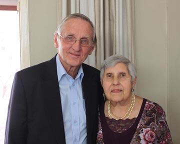 Zur Goldenen Hochzeit von Maggie & Hermann Niebuhr