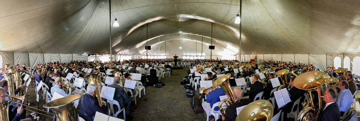 Das diesjährige Posaunenfest, am 1.und 2. Juli in Wittenberg, Südafrika, stand ganz im Zeichen der Reformation.