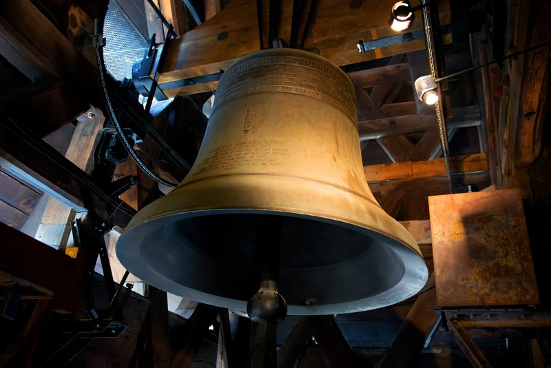 The history of bells. Notredam-church-bell